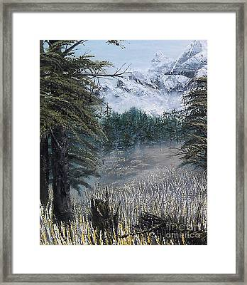 Boundless Partial Framed Print by Erik Coryell