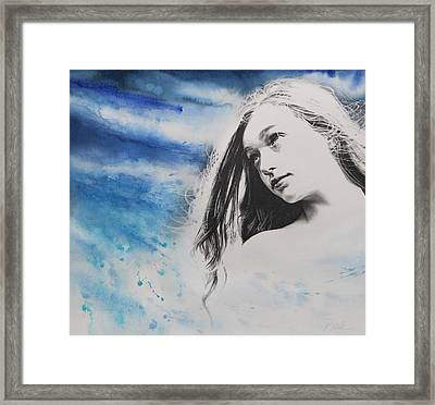 Boundless Framed Print by Tracy Male