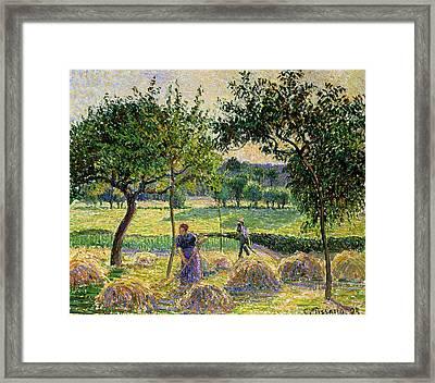 Bountiful Harvest, 1893 Framed Print