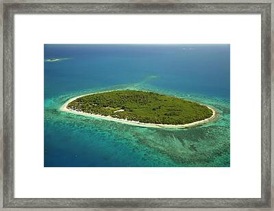 Bounty Island, Mamanuca Islands, Fiji Framed Print