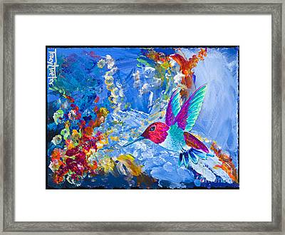 Bounty Framed Print by Tracy L Teeter