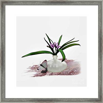 Bouque Of Flowers Framed Print