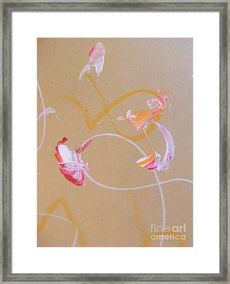 Bouquet 5 Framed Print by Nancy Kane Chapman