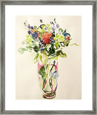 Bouquet  Framed Print by Julie Held