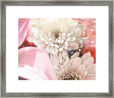 Bouquet Framed Print by Melissa Herrin