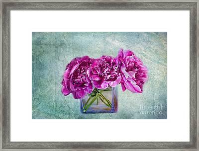 Bouquet Of Beauty Framed Print by Andrea Kollo