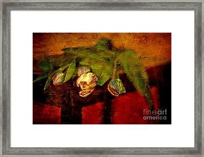 Bouquet Of Tulips Framed Print by Izabela Kaminska