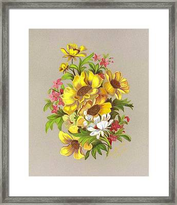 Bouquet  Framed Print by Ruth Seal