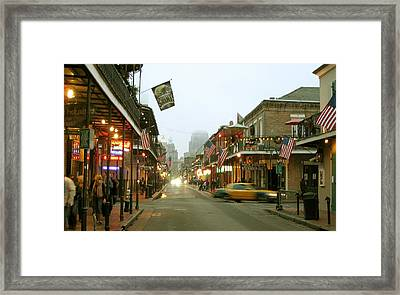 Bourbon And St Peter 12 26 2011 Framed Print