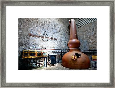 Bourbon Distillery Framed Print