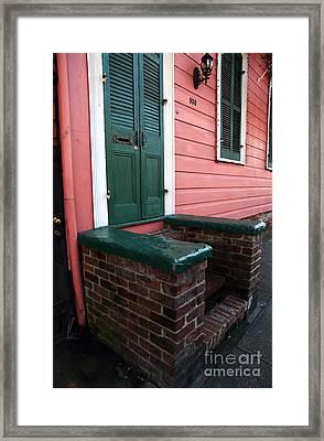 Bourbon House Framed Print by John Rizzuto