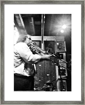 Bourbon Street Jazz Framed Print by Mike Barch