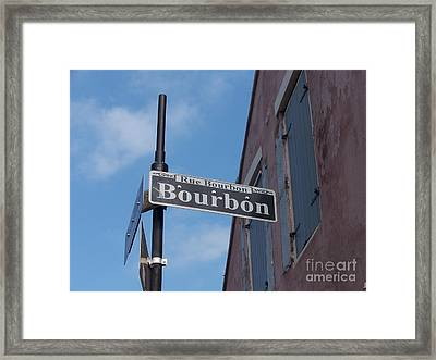 Bourbon Street Framed Print by Kevin Croitz