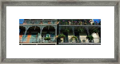Bourbon Street New Orleans La Framed Print by Panoramic Images