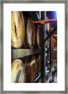 Bourbon Warehouse Framed Print