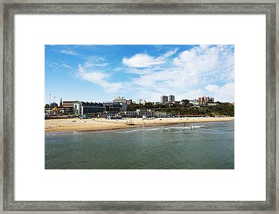 Bournemouth Bay Framed Print by Svetlana Sewell