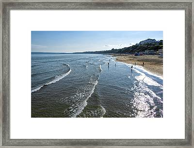Bournemouth Beach Framed Print by Svetlana Sewell