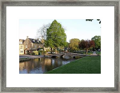 Bourton On The Water 2 Framed Print