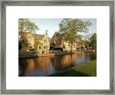 Bourton On The Water Framed Print