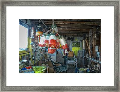 Bouy House Framed Print by Scott Thorp