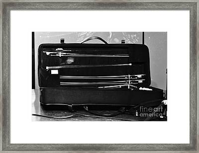 Bow Box Framed Print by Wibada Photo