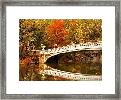Bow Bridge Beauty Framed Print