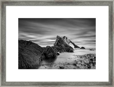 Bow Fiddle Rock 1 Framed Print by Dave Bowman