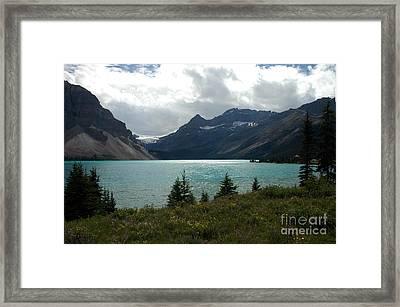1021a Bow Lake Alberta Framed Print