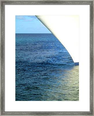 Bow Framed Print by Randall Weidner