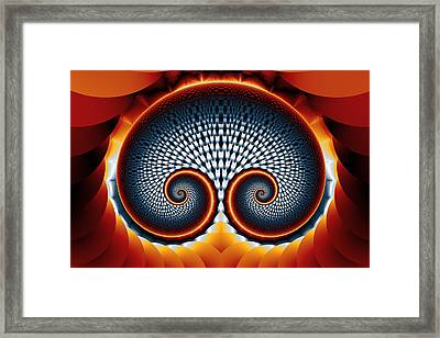 Bow Spiral No. 2 Framed Print by Mark Eggleston