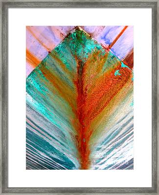 Bow Splash Framed Print