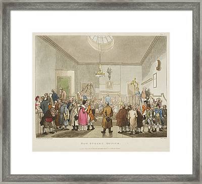 Bow Street Office Framed Print by British Library