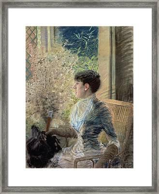 Bow Window Framed Print