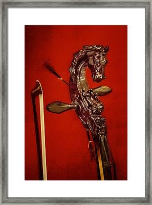 Bowed Lute Framed Print
