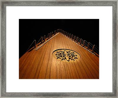 Bowed Psaltery Framed Print