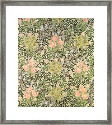 Bower Design Framed Print by William Morris