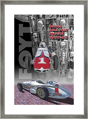 Bowes Seal Fast Spl. 61-62 Framed Print by Ed Dooley