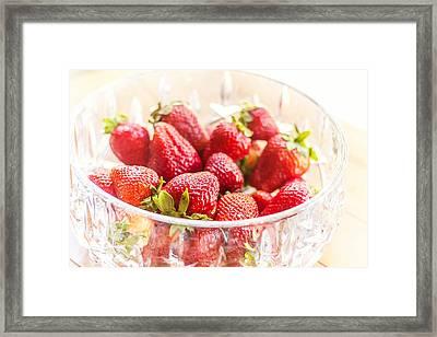 Bowl Of Berries Framed Print