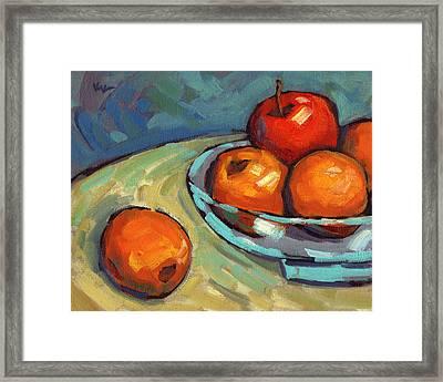 Bowl Of Fruit 2 Framed Print