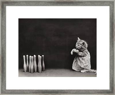 Bowling Alley Framed Print