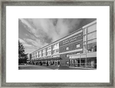 Bowling Green State University Bowen-thompson Student Union Framed Print by University Icons