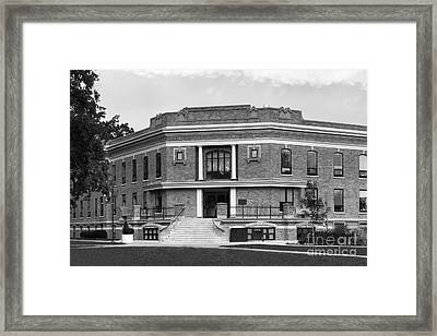 Bowling Green State University Williams Hall Framed Print by University Icons