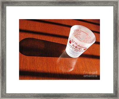 Framed Print featuring the photograph Bowling History by Michael Krek