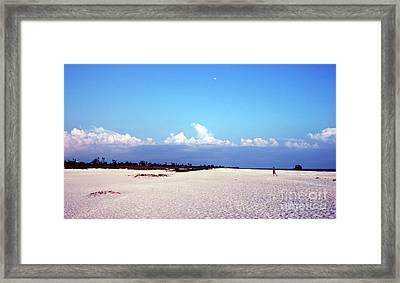 Bowman's Beach Framed Print by Kathleen Struckle