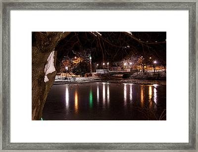 Bowring Park Framed Print by Darrell Young