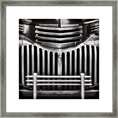 Bowtie Lines Framed Print by Ken Smith