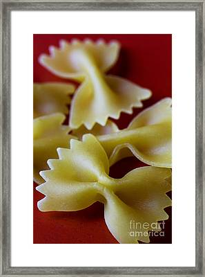 Bowties Framed Print by Elena Nosyreva