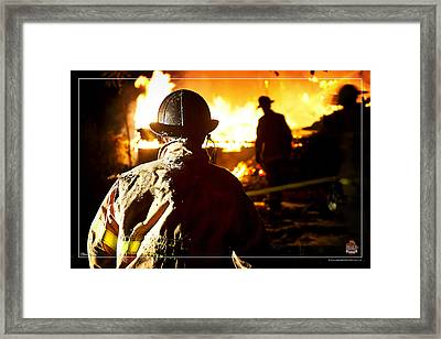 Box Alarm Framed Print by Mitchell Brown