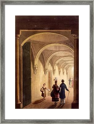 Box Entrance To The English Opera Framed Print
