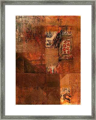 Box O' Rocks Framed Print by Buck Buchheister